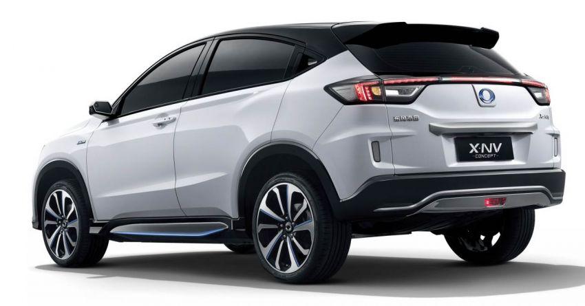 Honda X-NV Concept debuts in Shanghai – EV HR-V Image #948287