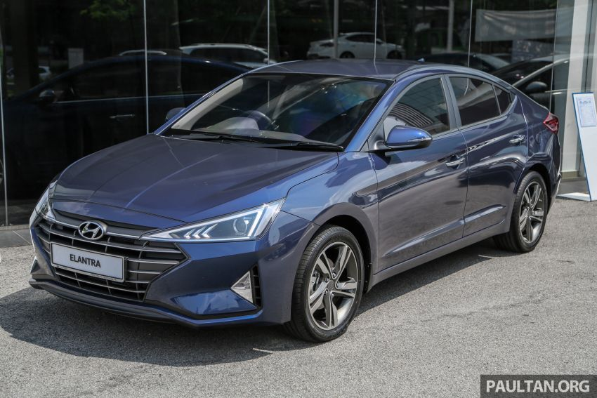 2019 Hyundai Elantra facelift launched – from RM110k Image #950488