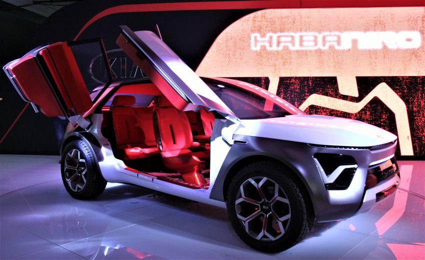 Kia HabaNiro concept EV SUV unveiled in New York Image #949797