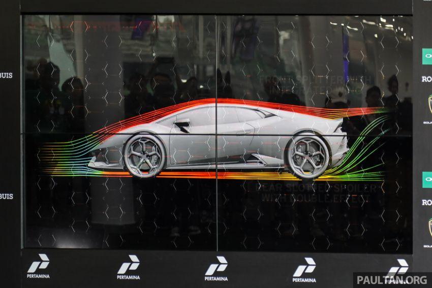 Lamborghini Huracan Evo dipertontonkan di Malaysia Image #944036