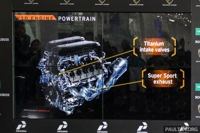 Lamborghini Huracan Evo dipertontonkan di Malaysia Image #944043