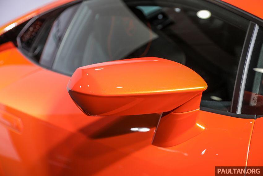 Lamborghini Huracan Evo dipertontonkan di Malaysia Image #944071