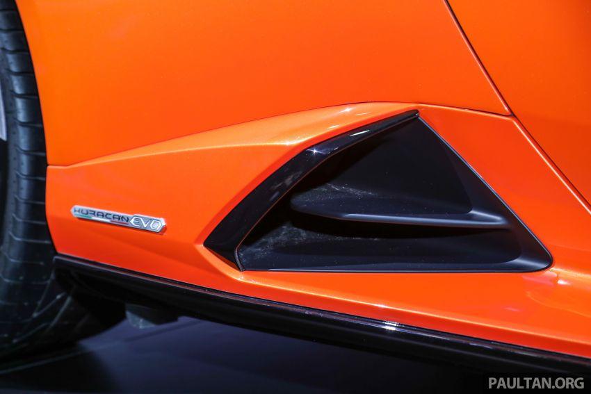 Lamborghini Huracan Evo dipertontonkan di Malaysia Image #944074