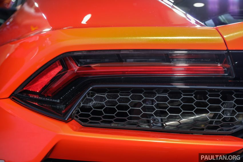 Lamborghini Huracan Evo dipertontonkan di Malaysia Image #944079