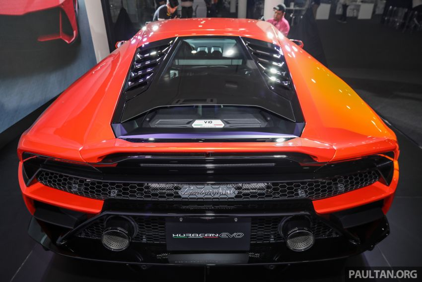 Lamborghini Huracan Evo dipertontonkan di Malaysia Image #944065
