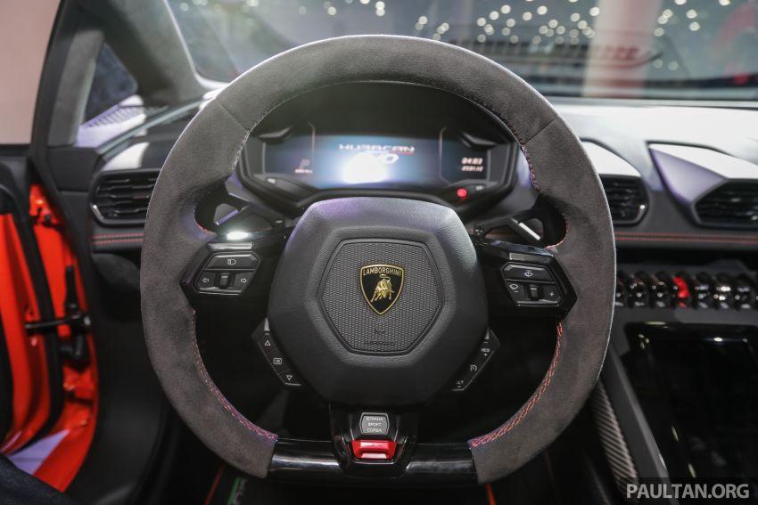Lamborghini Huracan Evo dipertontonkan di Malaysia Image #944087