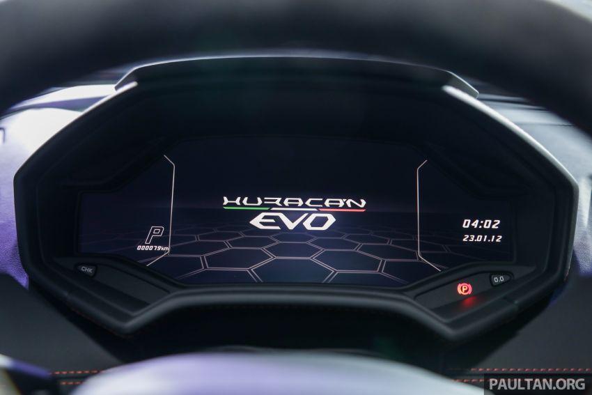 Lamborghini Huracan Evo dipertontonkan di Malaysia Image #944088