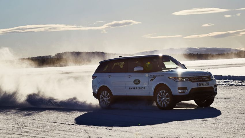 AD: Enjoy a winter driving adventure in a Jaguar or Land Rover at the Ice Drive Experience in Sweden! Image #952873
