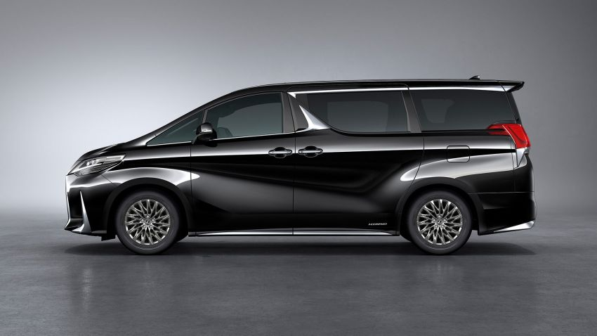 Lexus LM unveiled for Asia – ultimate luxury Alphard Image #948235