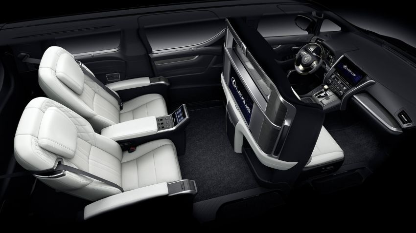 Lexus LM unveiled for Asia – ultimate luxury Alphard Image #948238