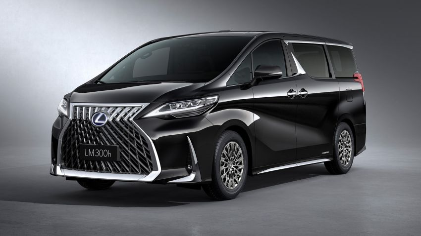 Lexus LM unveiled for Asia – ultimate luxury Alphard Image #948241