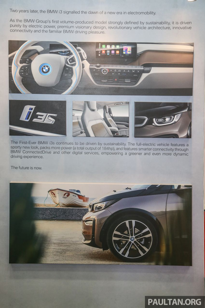 BMW i3s officially launched in Malaysia – 181 hp and 270 Nm, 120 Ah battery, 260 km EV range, RM279k Image #946948