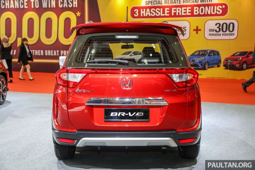 Honda BR-V Special Edition – 300 units; from RM91k Image #946323