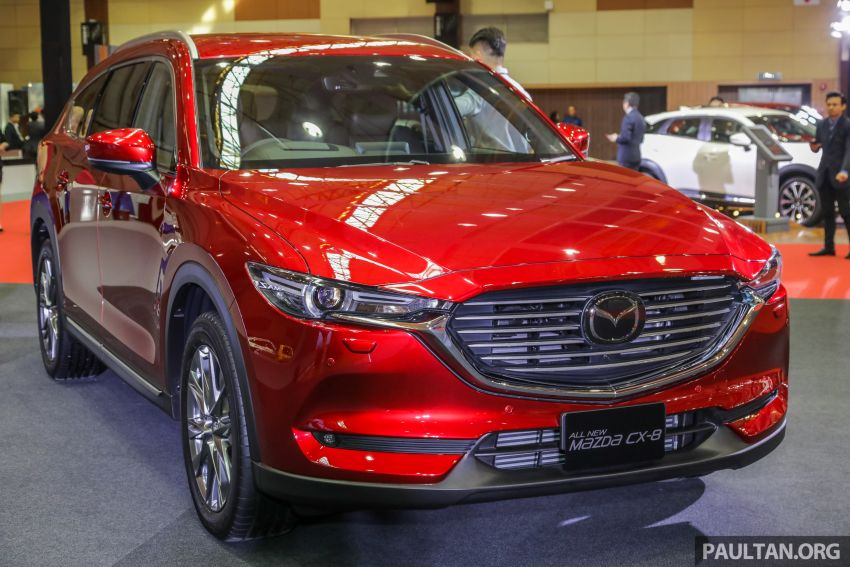 Mazda CX-8 previewed at 2019 Malaysia Autoshow Image #945526