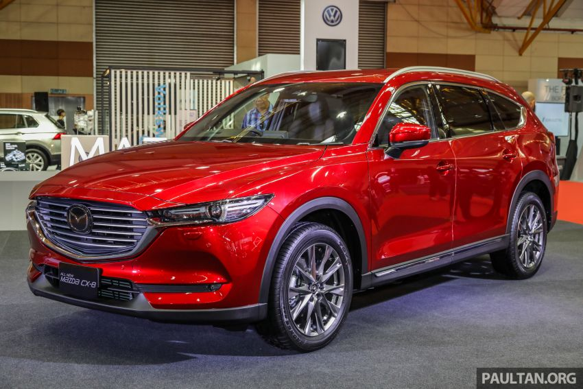 Mazda CX-8 previewed at 2019 Malaysia Autoshow Image #945529