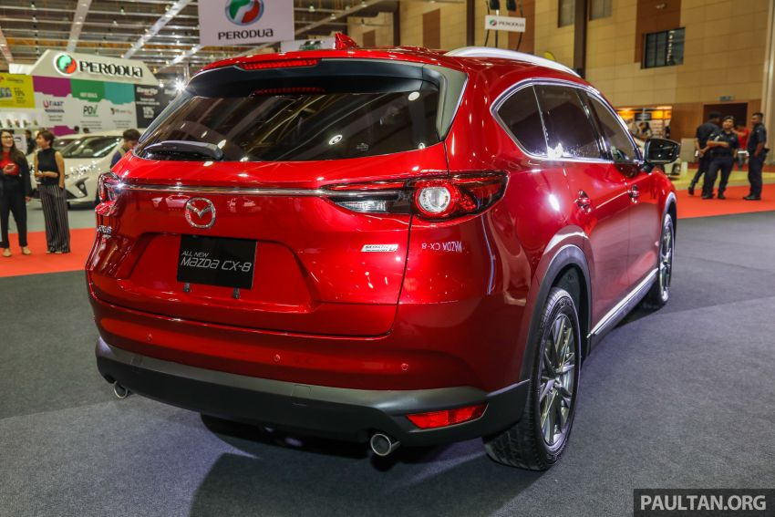 Mazda CX-8 previewed at 2019 Malaysia Autoshow Image #945532