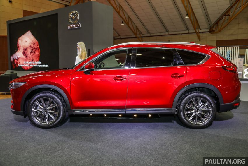 Mazda CX-8 previewed at 2019 Malaysia Autoshow Image #945538