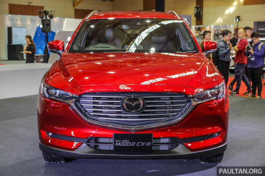 Mazda CX-8 previewed at 2019 Malaysia Autoshow Image #945541