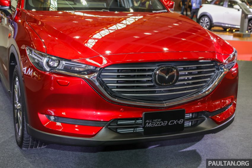 Mazda CX-8 previewed at 2019 Malaysia Autoshow Image #945548