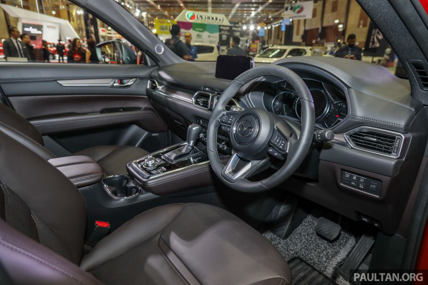 Mazda CX-8 previewed at 2019 Malaysia Autoshow Image #945590