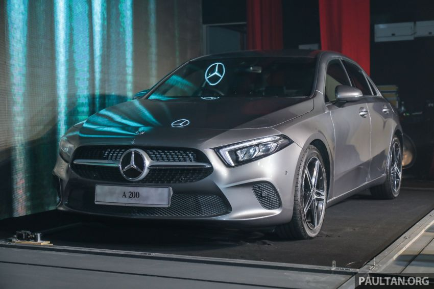 V177 Mercedes-Benz A-Class Sedan launched in Malaysia – A200 and A250 at RM230k and RM268k Image #944526