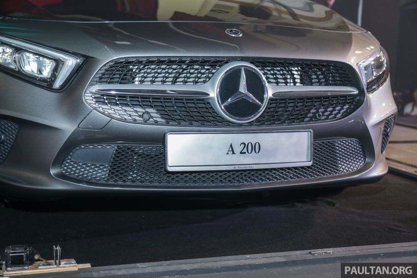 V177 Mercedes-Benz A-Class Sedan launched in Malaysia – A200 and A250 at RM230k and RM268k Image #944535