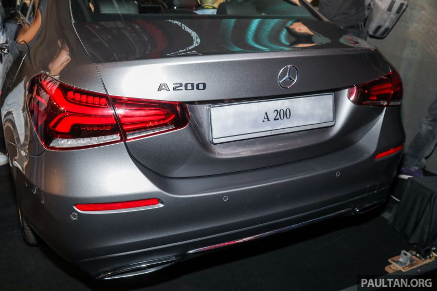 V177 Mercedes-Benz A-Class Sedan launched in Malaysia – A200 and A250 at RM230k and RM268k Image #944541