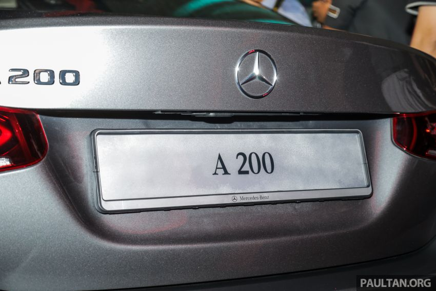 V177 Mercedes-Benz A-Class Sedan launched in Malaysia – A200 and A250 at RM230k and RM268k Image #944545