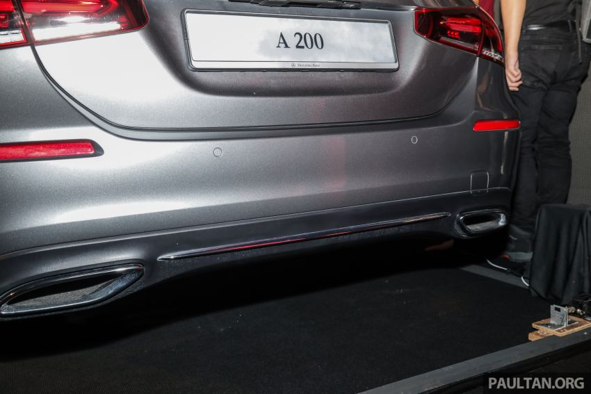 V177 Mercedes-Benz A-Class Sedan launched in Malaysia – A200 and A250 at RM230k and RM268k Image #944546