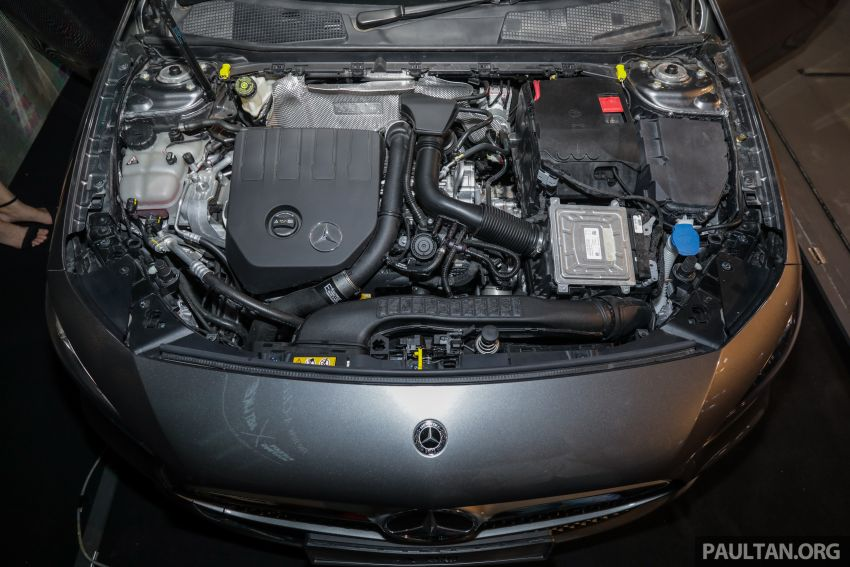 V177 Mercedes-Benz A-Class Sedan launched in Malaysia – A200 and A250 at RM230k and RM268k Image #944547