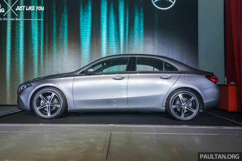 V177 Mercedes-Benz A-Class Sedan launched in Malaysia – A200 and A250 at RM230k and RM268k Image #944528