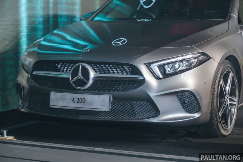 V177 Mercedes-Benz A-Class Sedan launched in Malaysia – A200 and A250 at RM230k and RM268k Image #944531
