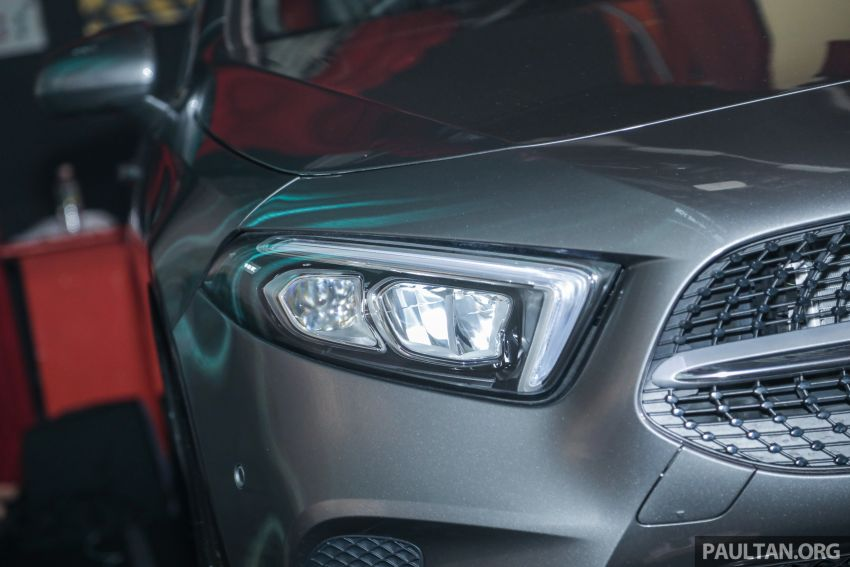 V177 Mercedes-Benz A-Class Sedan launched in Malaysia – A200 and A250 at RM230k and RM268k Image #944532