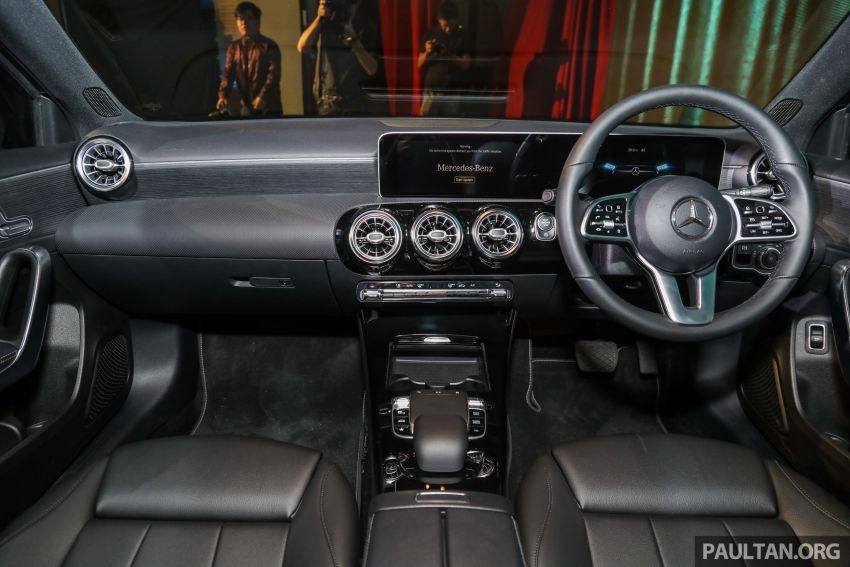 V177 Mercedes-Benz A-Class Sedan launched in Malaysia – A200 and A250 at RM230k and RM268k Image #944549