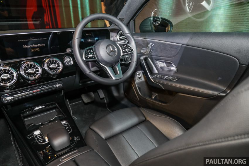 V177 Mercedes-Benz A-Class Sedan launched in Malaysia – A200 and A250 at RM230k and RM268k Image #944569