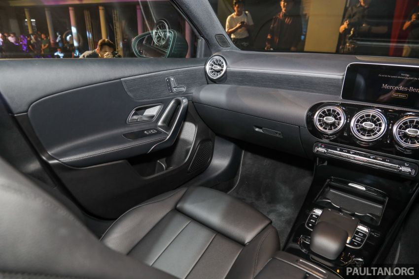 V177 Mercedes-Benz A-Class Sedan launched in Malaysia – A200 and A250 at RM230k and RM268k Image #944571