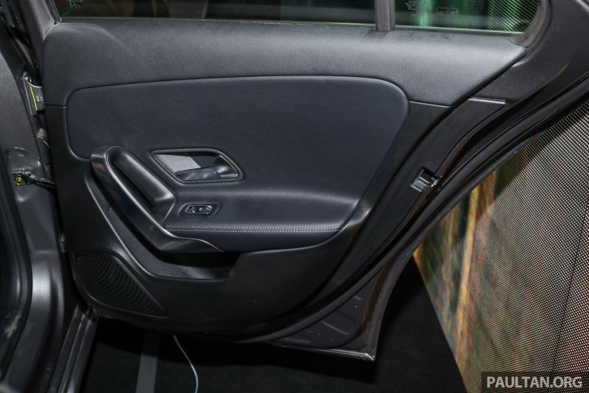 V177 Mercedes-Benz A-Class Sedan launched in Malaysia – A200 and A250 at RM230k and RM268k Image #944582