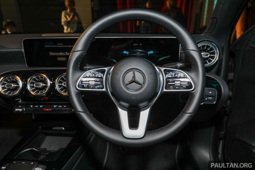 V177 Mercedes-Benz A-Class Sedan launched in Malaysia – A200 and A250 at RM230k and RM268k Image #944554