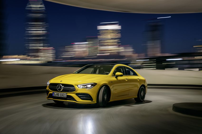 C118 Mercedes-AMG CLA35 4Matic debuts with 302 hp Image #944587