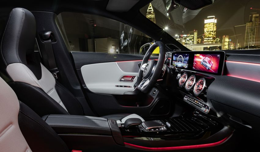 C118 Mercedes-AMG CLA35 4Matic debuts with 302 hp Image #944597