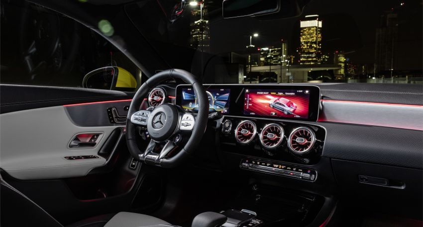 C118 Mercedes-AMG CLA35 4Matic debuts with 302 hp Image #944593