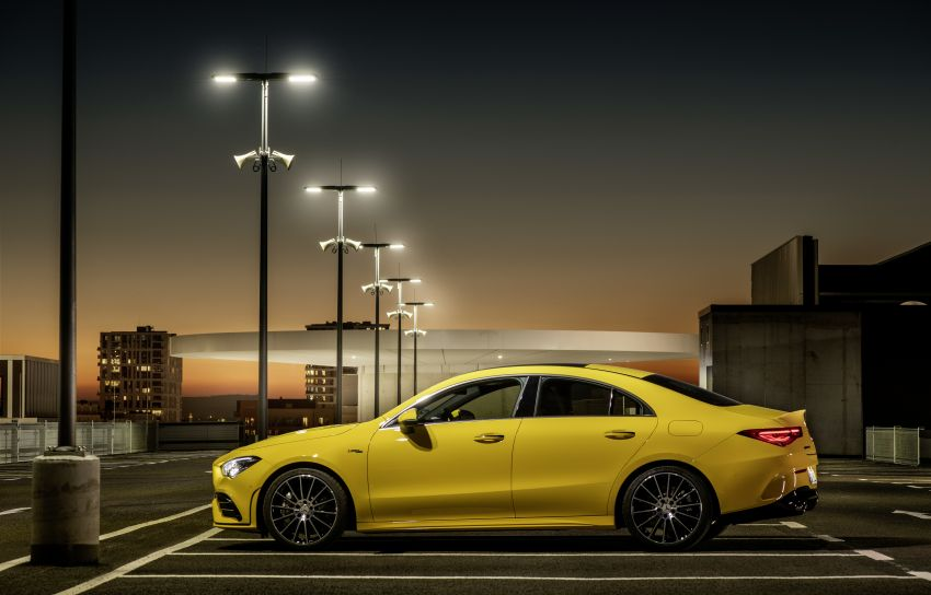 C118 Mercedes-AMG CLA35 4Matic debuts with 302 hp Image #944682