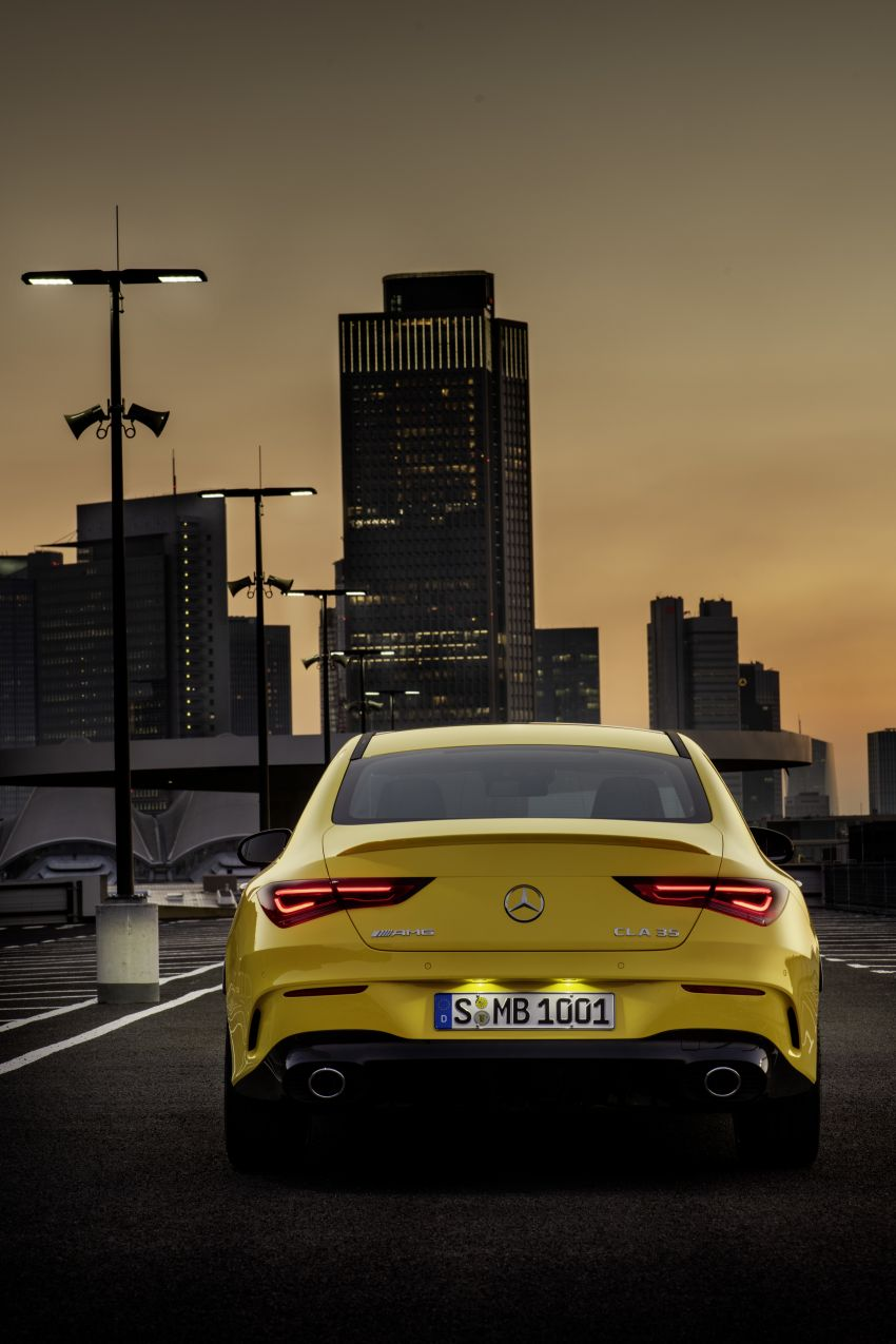 C118 Mercedes-AMG CLA35 4Matic debuts with 302 hp Image #944602