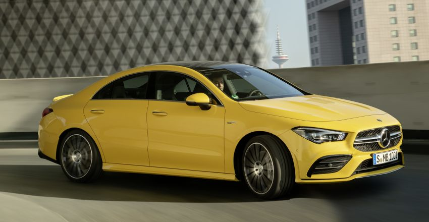 C118 Mercedes-AMG CLA35 4Matic debuts with 302 hp Image #944603