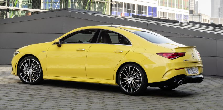C118 Mercedes-AMG CLA35 4Matic debuts with 302 hp Image #944604