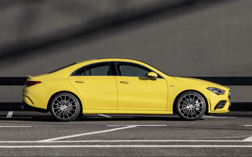 C118 Mercedes-AMG CLA35 4Matic debuts with 302 hp Image #944607