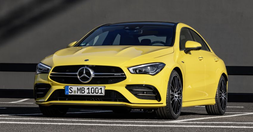 C118 Mercedes-AMG CLA35 4Matic debuts with 302 hp Image #944608