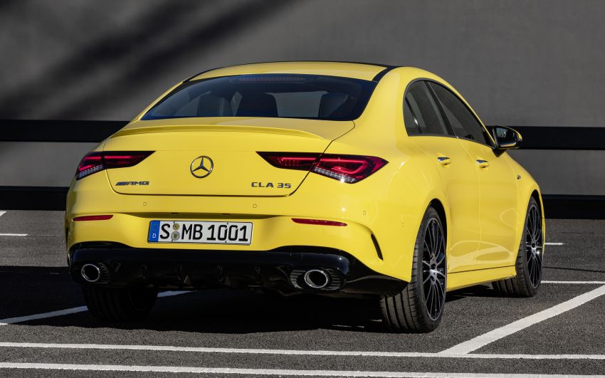 C118 Mercedes-AMG CLA35 4Matic debuts with 302 hp Image #944609