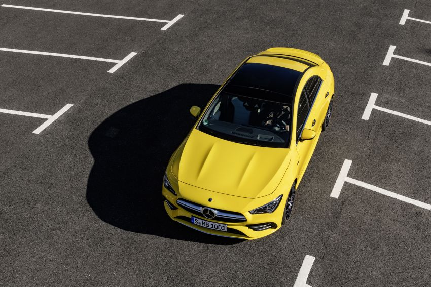 C118 Mercedes-AMG CLA35 4Matic debuts with 302 hp Image #944610