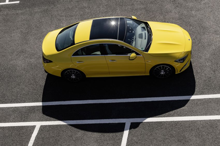 C118 Mercedes-AMG CLA35 4Matic debuts with 302 hp Image #944612